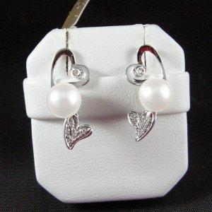 Orecchini Perle e Brillantini 1033